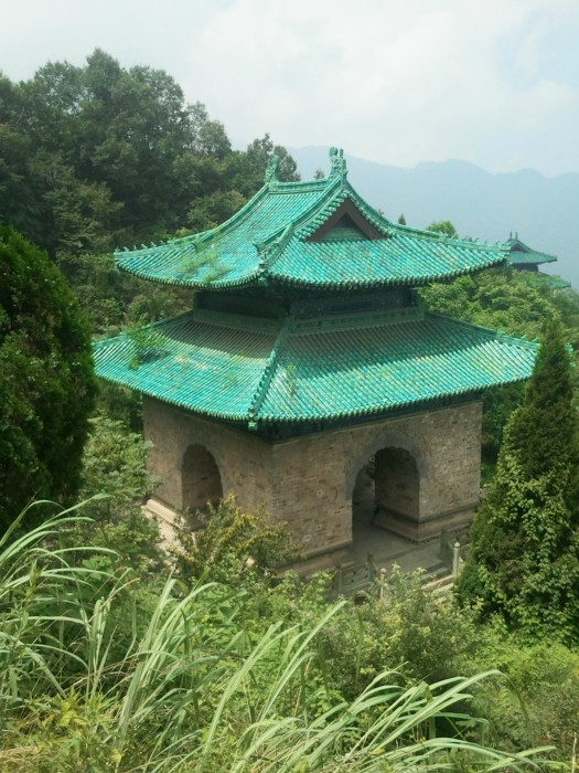 Temple Nanyan Monts Wudang - Chine 2012 - 2013
